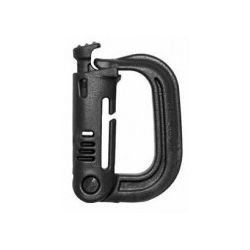 Grimloc Carabiner Black (S & T)