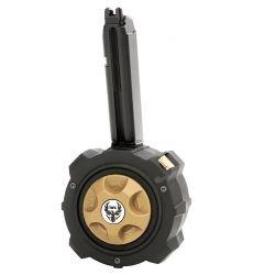 Chargeur Gaz G17 / G18 Drum 130 Billes (HFC) AC-HFHD001 Chargeur GBB GAZ