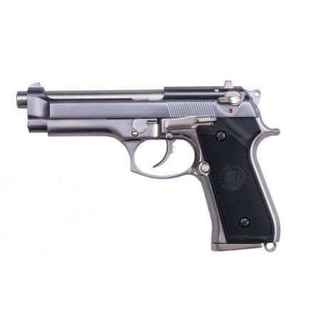 replique-WE M9 Gen2 Gaz Argent -airsoft-RE-WEGP301SV2