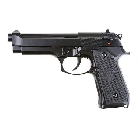 replique-M9 Gaz Gen2 Noir (WE) -airsoft-RE-WEGP301V2