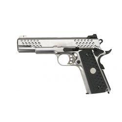 Colt 1911 Gaz Night Hawk Argent (WE)
