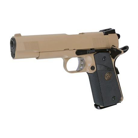 WE WE 1911 MEU Desert Gaz RE-WEGGB0342TT Répliques de Poing