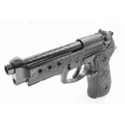 replique-WE M9A1 Gen2 HexCut Gaz Noir -airsoft-RE-WEGP324