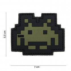 Patch 3D PVC Space invader OD (101 Inc)