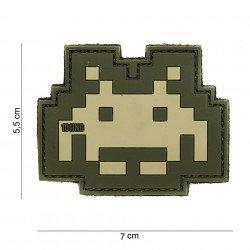 Patch 3D PVC Space invader Multicam (101 Inc)