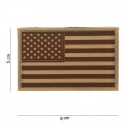 Patch 3D PVC Drapeau USA Desert (101 Inc)