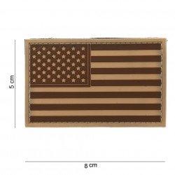 Patch 3D PVC Drapeau USA Desert (101 Inc)