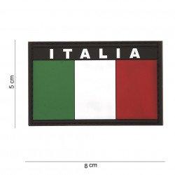3D PVC Flagge Italien Patch (101 Inc)
