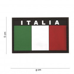 Patch 3D PVC Flag Italia (101 Inc)