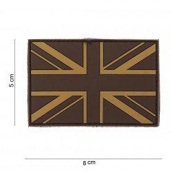 Patch 3D PVC Drapeau Royaume Uni Desert (101 Inc) AC-WP4441103553 Patch en PVC