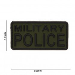 Patch 3D PVC Military Police OD (101 Inc)