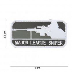 Patch 3D PVC Major League Sniper Gris (101 Inc)