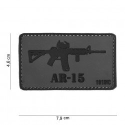 Patch 3D PVC AR-15 (101 Inc)