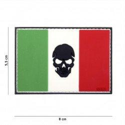 Patch 3D PVC Drapeau Italie Black Skull (101 Inc) AC-WP4441305023 Patch en PVC