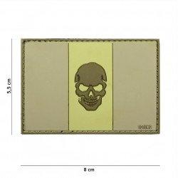 Patch 3D PVC Drapeau Italie Black Skull Desert (101 Inc) AC-WP4441305024 Patch en PVC