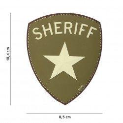 Patch 3D PVC Sheriff OD (101 Inc)