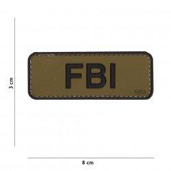 Patch 3D PVC FBI OD & Noir (101 Inc)