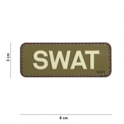 Patch 3D PVC SWAT OD & Marron (101 Inc) AC-WP4441305115 Patch en PVC