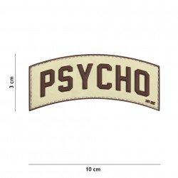 Patch 3D PVC Psycho Desert (101 Inc)