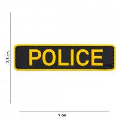 Parche 3D Policía Amarillo PVC (101 Inc)