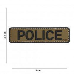 Patch 3D PVC Police OD & Noir (101 Inc)