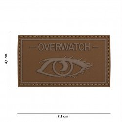 Patch 3D PVC Overwatch Coyote (101 Inc)
