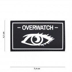 3D Black Overwatch Black Patch (101 Inc)
