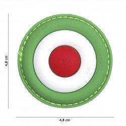 Parche 3D PVC Italia Air Force (101 Inc)