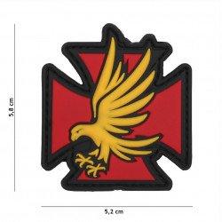 Patch 3D PVC Aigle de Fer Rouge (101 Inc) AC-WP4441305459 Patch en PVC