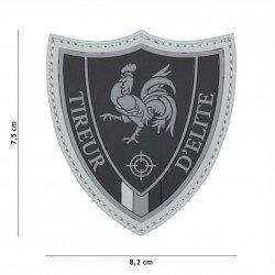 Parche 3D PVC Elite Sniper Black (101 Inc)