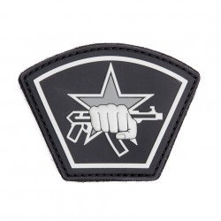 Patch 3D PVC Russian Star Fist Noir (101 Inc)