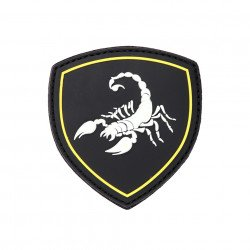 Patch 3D PVC Russian Scorpio Noir (101 Inc)