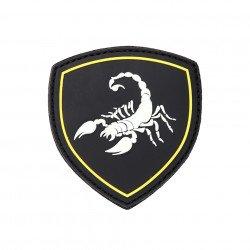 Patch PVC 3D Scorpio Black 3D (101 Inc)
