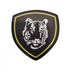 Patch PVC Russian Tiger Black 3D (101 Inc)