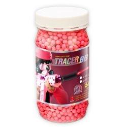 Bottiglia 0.20g Fluo Red Tracer di 2400 Balls (G & G)