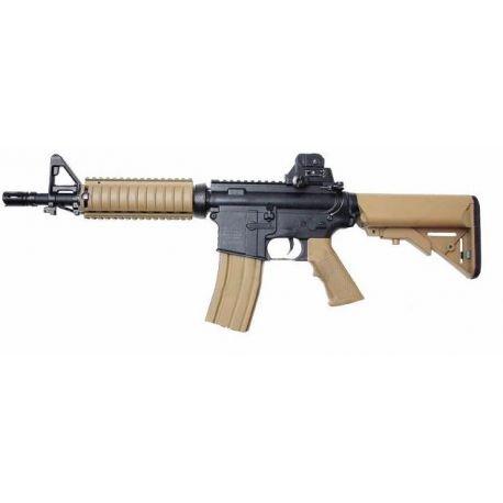 replique-Colt M4 CQB Noir & Désert (Swiss Arms 180834) -airsoft-RE-CB180834
