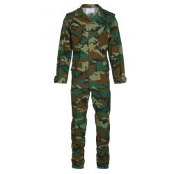 Conjunto de combate uniforme Woodland + Gorra gratis (101 inc.)