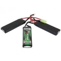 CYBERGUN Batterie LiFe 9,9v Triple 2100 mAh (Swiss Arms 693202) AC-CB693202 Batterie LiFe 9,9v