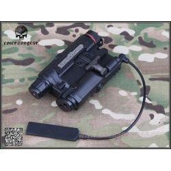 Laser Rouge et Lampe PEQ-15 Noir (Emerson)