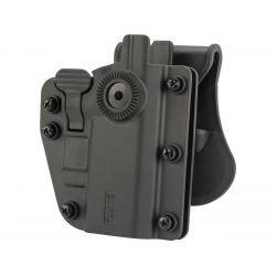 Holster Adapt-X CQC Ambidextre Noir (Swiss Arms 603659) AC-CB603659 Holster Rigide