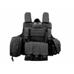 Chaleco Ciras MAR Combat Black (S & T 44100)