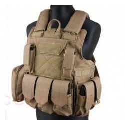Maritime CIRAS Combat Vest Black (S&T 44100)