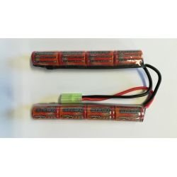 Batería NiMh 9.6v Doble 1600 mAh