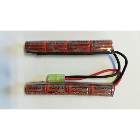 Batterie NiMh 9.6v Double 1600 mAh