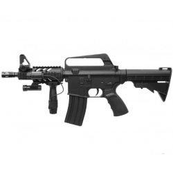 Fusil à ressort M4 CQB RIS 0.5 joule (Well M16A5)