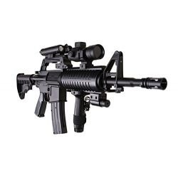 M4 RIS Pro Tactical 0.5 Joule Spring Rifle (MR 744)