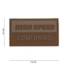 Patch 3D PVC High Speed Désert (101 Inc)