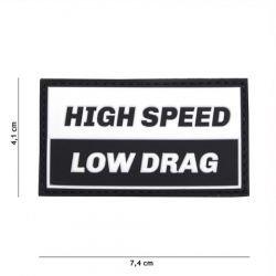 Patch 3D PVC High Speed Noir (101 Inc)