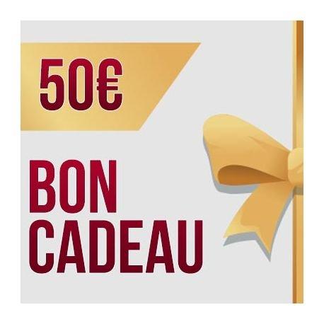 Bon Cadeau 50€ AC-KDO50 Les Sélections de Noel