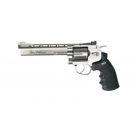 "Revolver Dan Wesson 6"" Chrome 1.9 Joules (ASG 17479)"